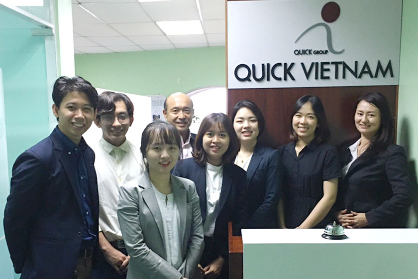QUICK VIETNAM CO.,LTD.について