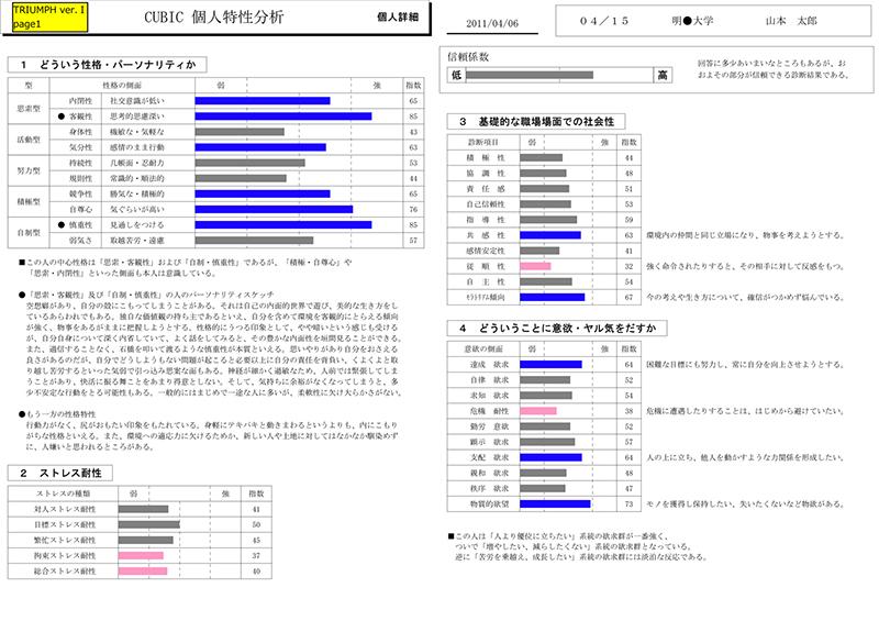 ベトナム人適性検査(CUBIC)サービス