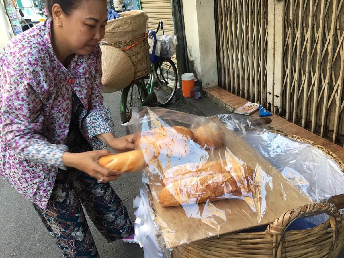 ベトナムは美味しいパン天国