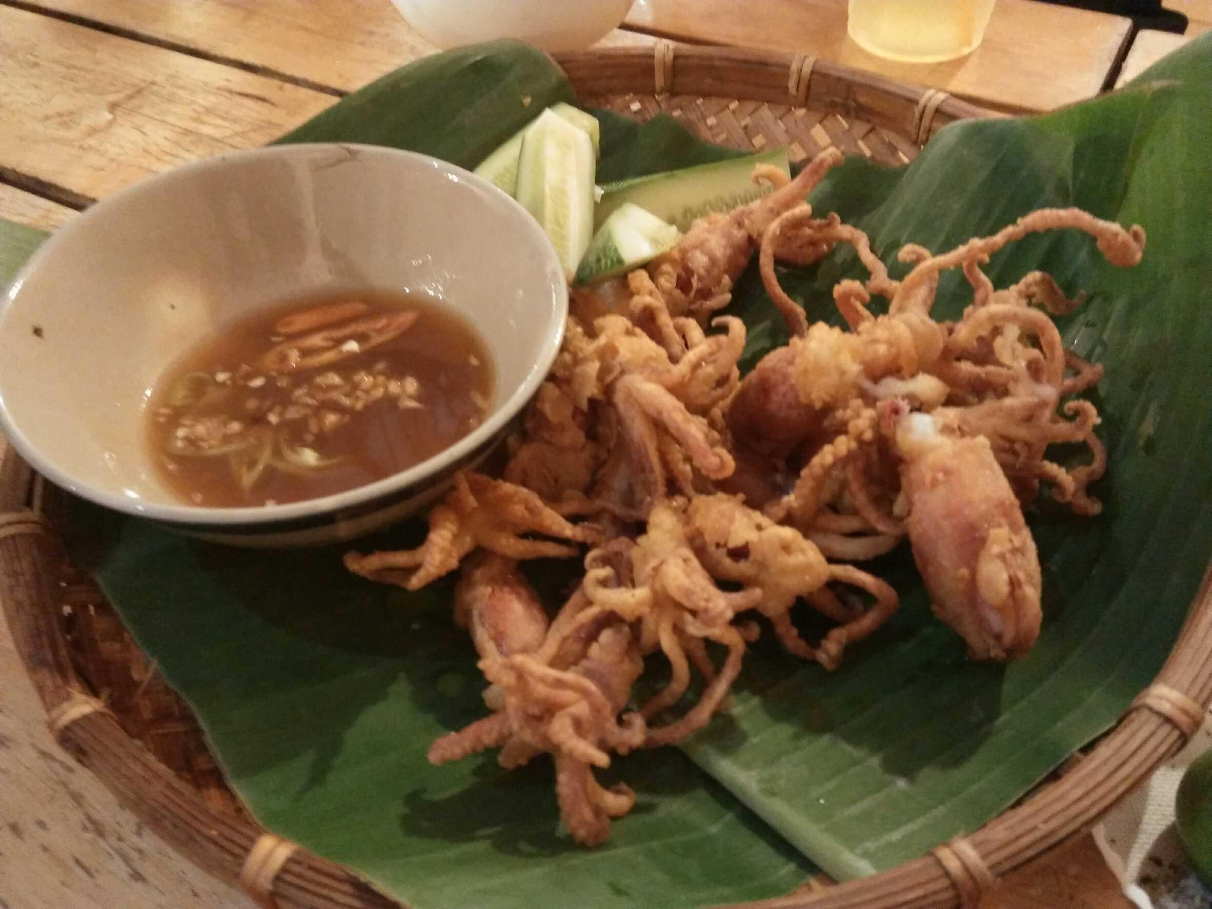 Quán Ngõ 8 料理