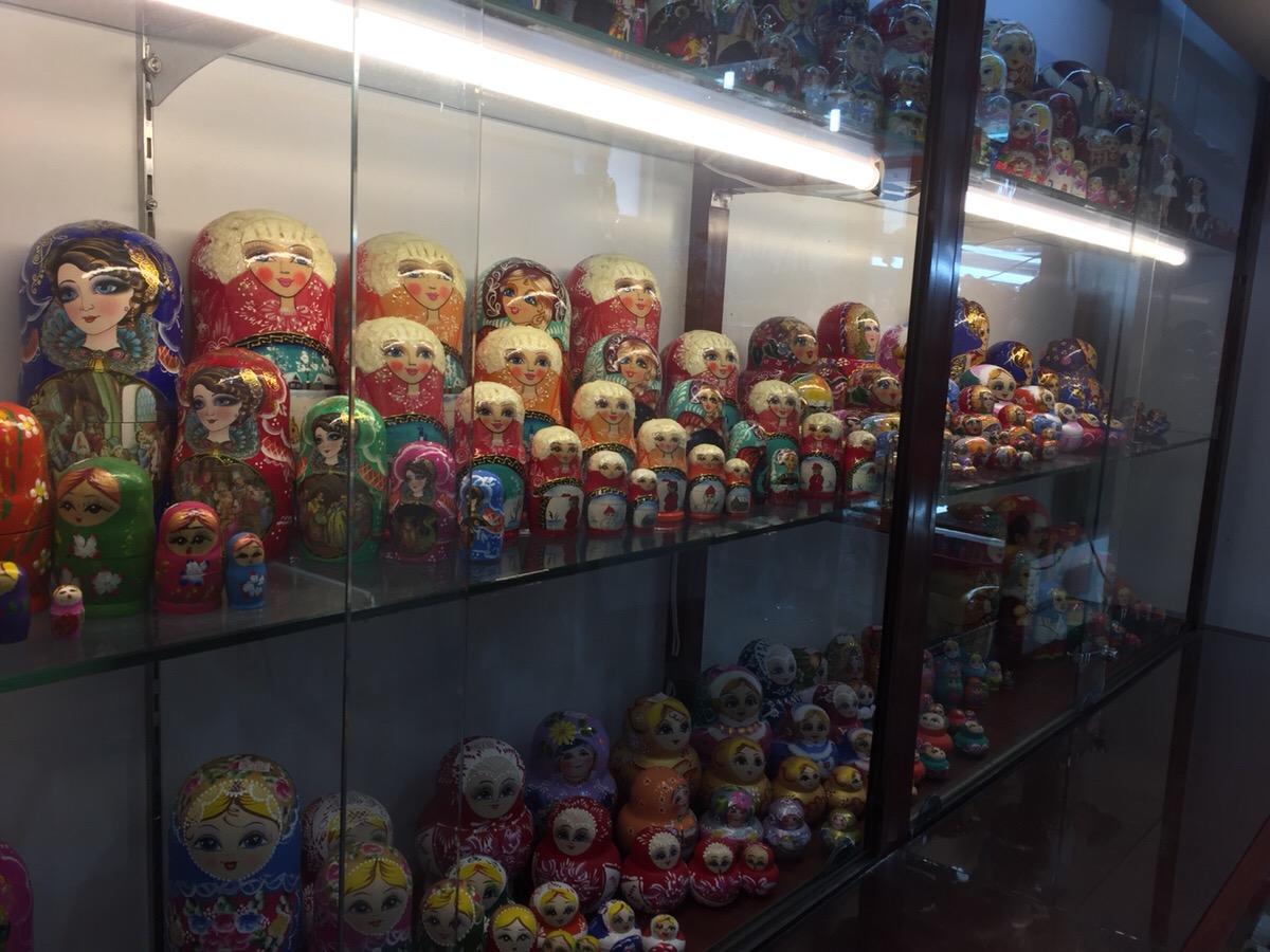 ロシアンマーケット ロシアの民芸品