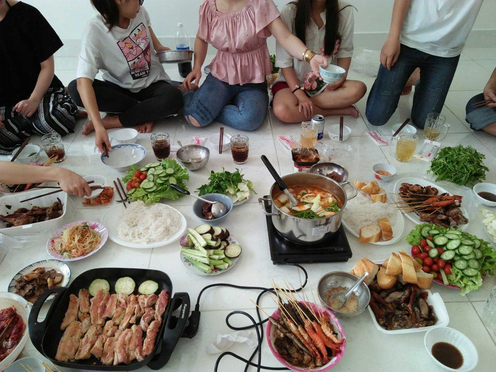 ベトナムのパーティ