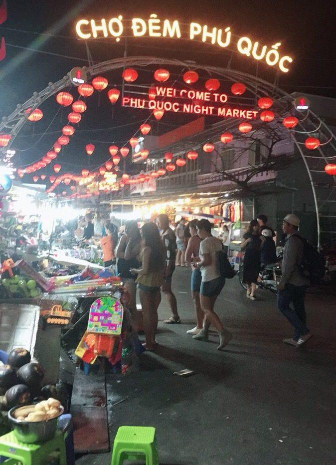 ベトナム フーコック島 ナイトマーケット