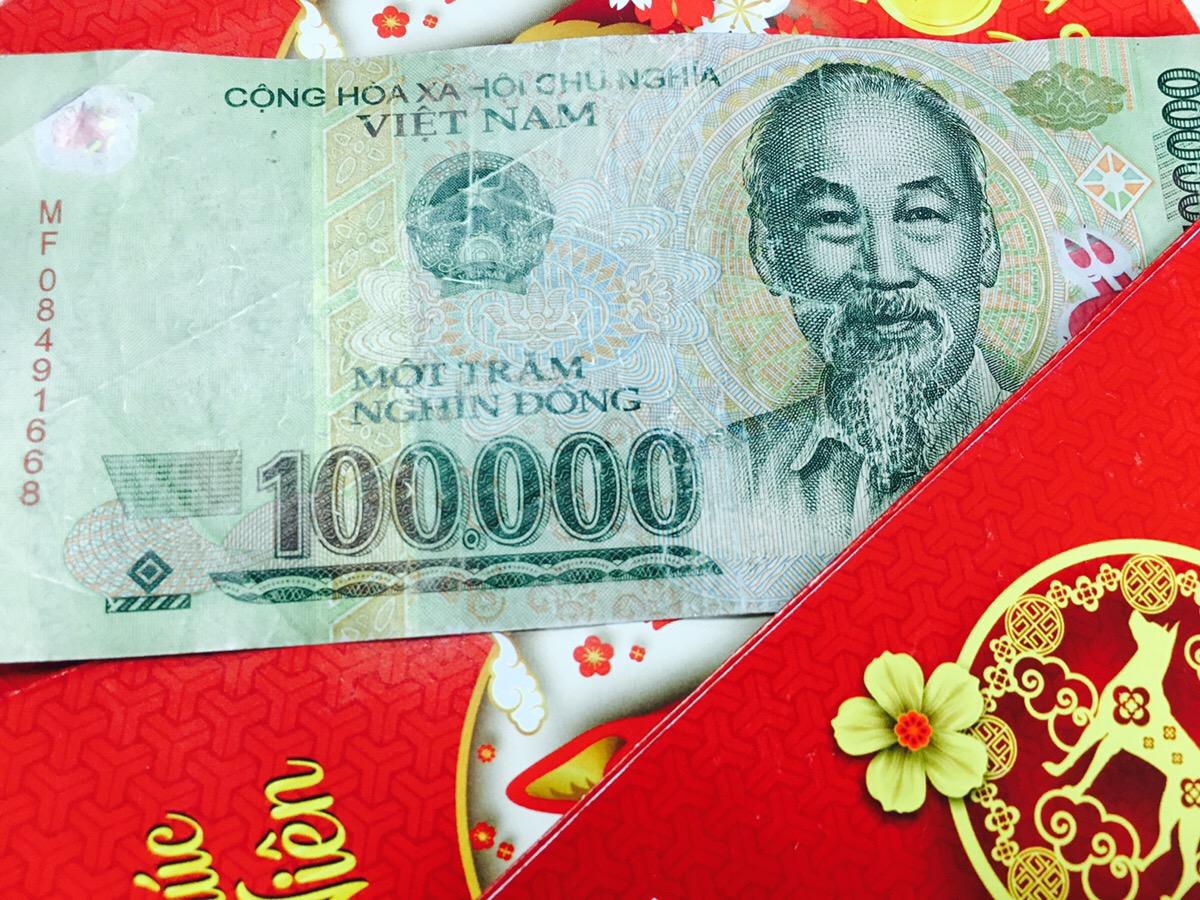 ベトナム お年玉(Li Xi)
