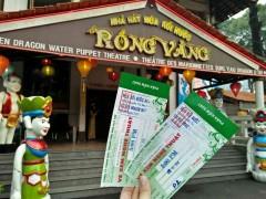 サイゴン川ディナークルーズと水上人形劇