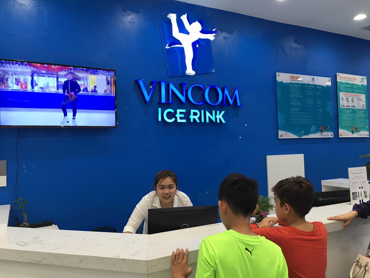 ベトナム ホーチミン アイススケート