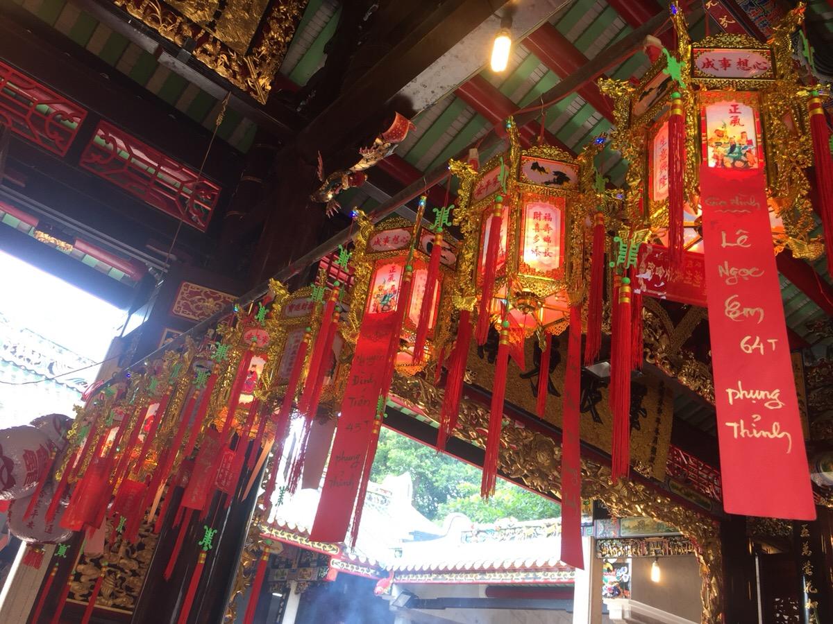 關帝廟(ギアアン會館) ベトナム ホーチミン