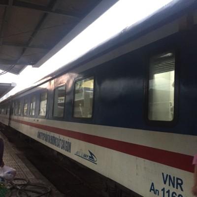 寝台列車の旅(ホーチミン→ニャチャン)