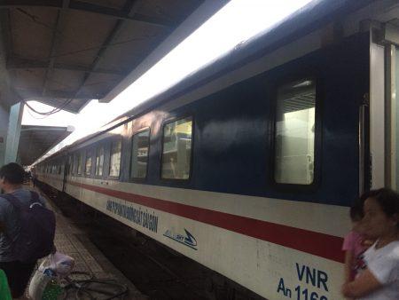 寝台列車 ニャチャン ベトナム