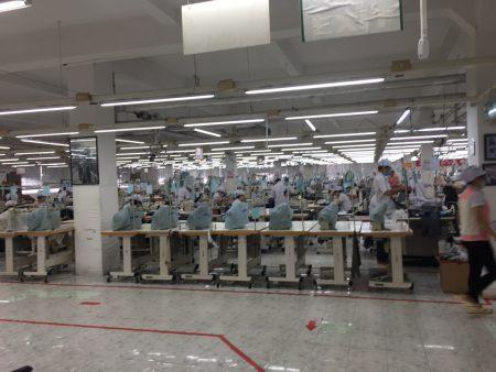 ベトナム アパレル 繊維 縫製 生産管理