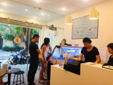 Osterberg Ice cream ベトナム ホーチミン 2区 タオディエン