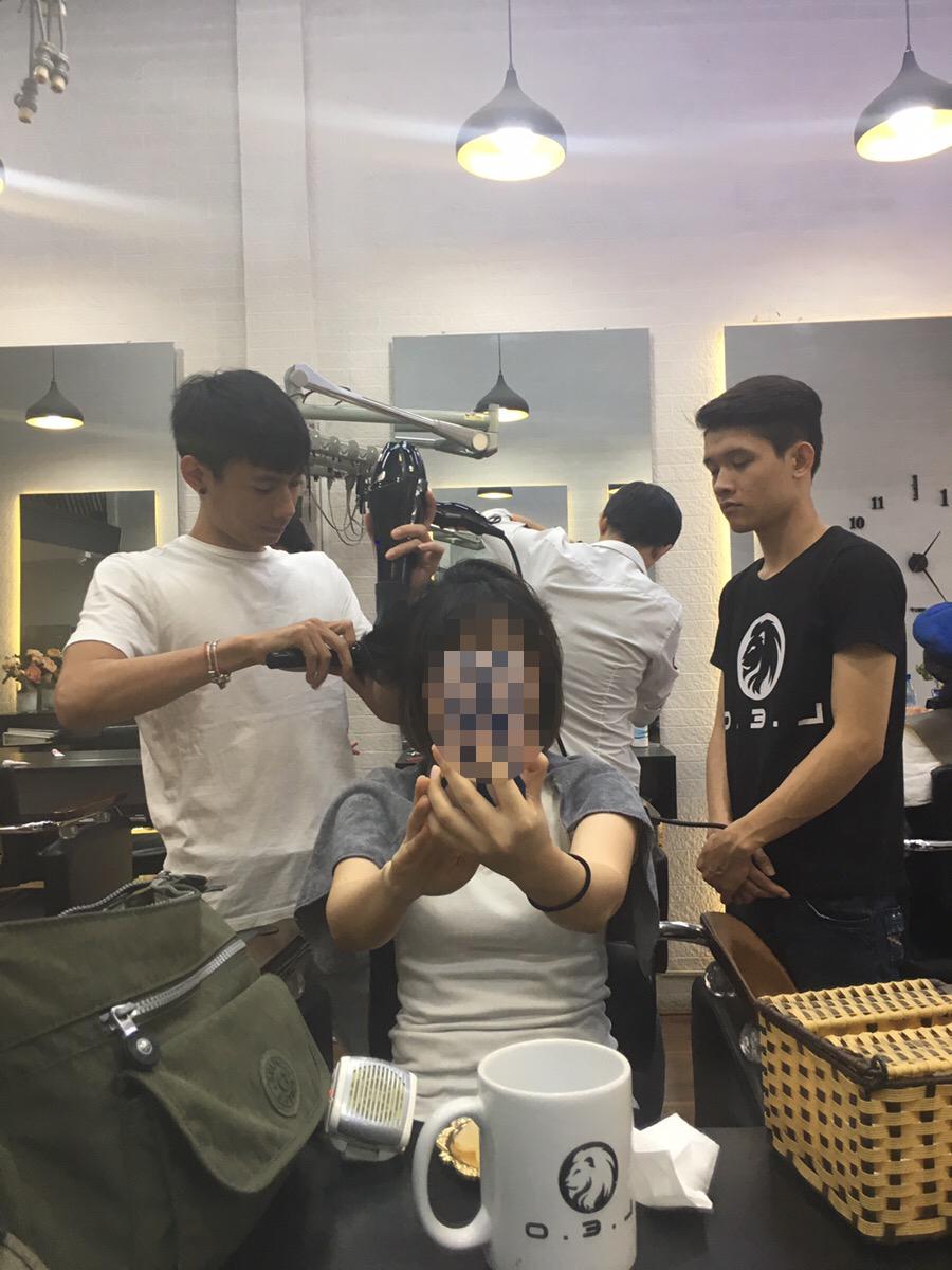 ベトナムローカル美容室 ホーチミン