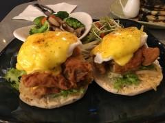 ベトナム・ホーチミンおすすめの朝食レストラン(エッグベネディクト)