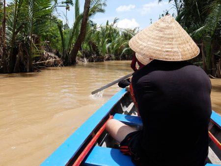 ベトナム ホーチミン ミトー、メコン川のクルーズツアー