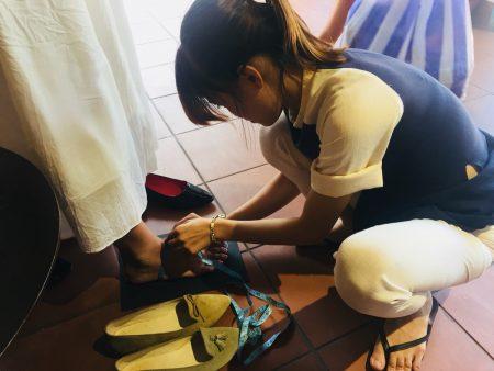 ベトナム ホイアン オーダーメイド靴 革 Friendly shoe shop