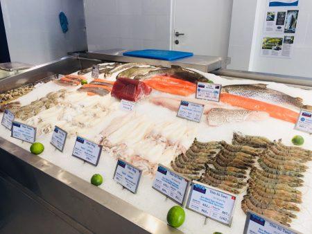 ベトナム ホーチミン 魚介専門店 2区 タオディエン VP SEAFOOD