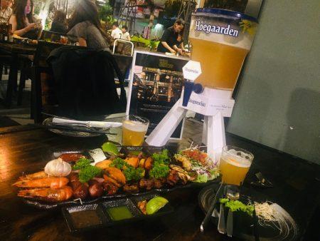 ベトナム ホーチミン ビールタワー The Gangs Grill&Beer お肉