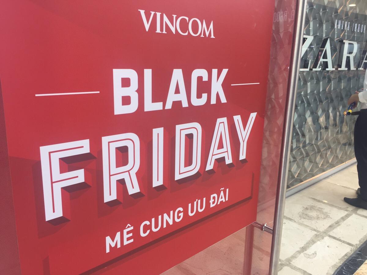 ベトナム ホーチミン ブラックフライデー Black Friday 2018