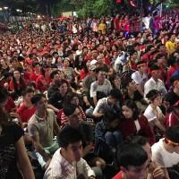 2018年12月15日~サッカーベトナム代表SUZUKIカップ優勝、熱狂のホーチミン市内~