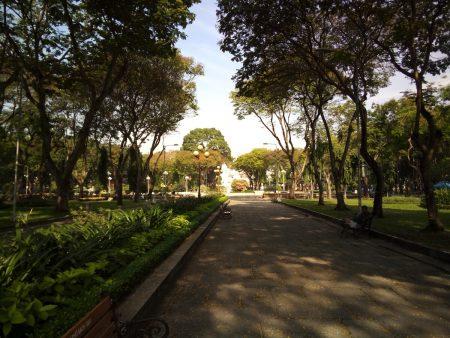 ベトナム ホーチミン レバンタム公園