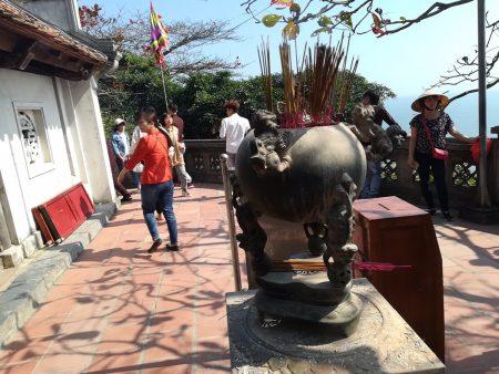 ベトナム北部・サムソン市でテト(旧正月)