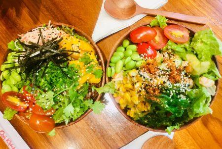ベトナム ホーチミン ハワイアン・POKE(ポキ)野菜 サラダ