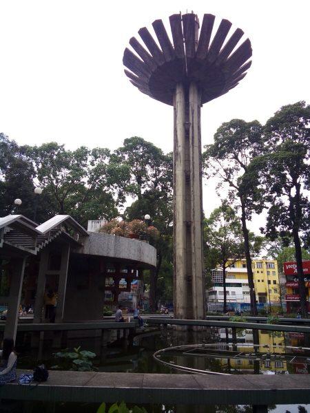ベトナム ホーチミン 亀池 公園 Hồ Con Rùa