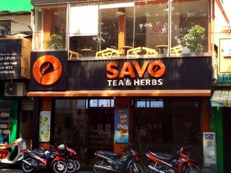 ベトナム ホーチミン カフェ Savo Tea & Herbs