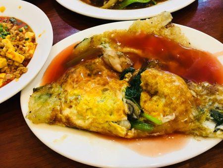 ベトナム ホーチミン 台湾料理 5区 チョロン Tiem Cơm Hàu Quán(蚵仔嫂)
