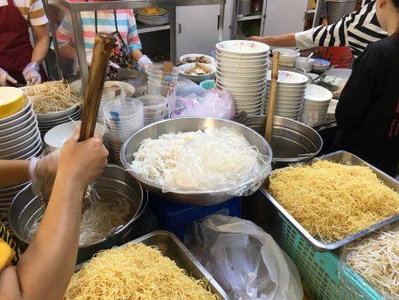 ベトナム ホーチミン 春雨麺 miến