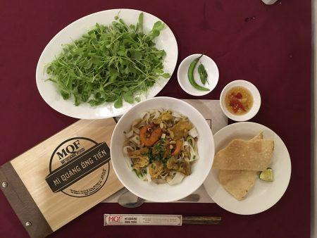 ホーチミン ベトナム麺料理 ミークワン(Mi Quang