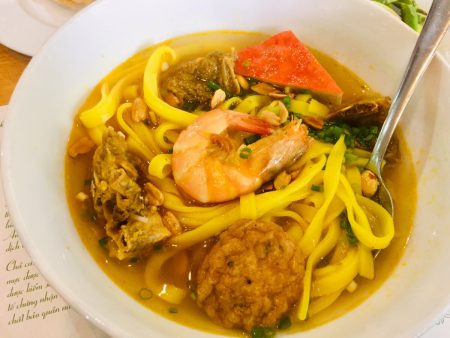 ホーチミン ベトナム麺料理 ミークワン(Mi Quangホーチミン ベトナム麺料理 ミークワン(Mi Quang