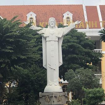 ベトナム ホーチミン タンディン教会 観光