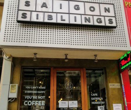 ベトナム ホーチミン カヤトースト  Saigon Siblings Cafe