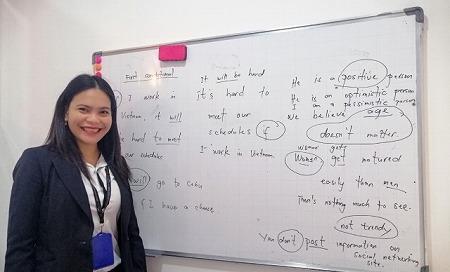 ベトナム ホーチミン 英会話 Brilliant English