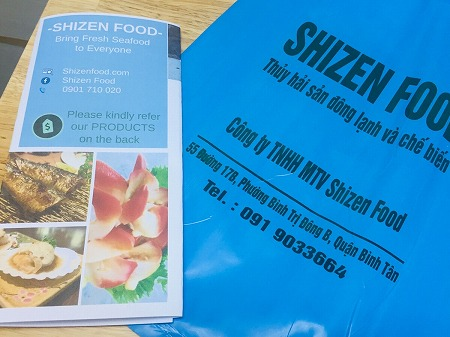 ベトナム ホーチミン 海鮮魚 当日配送 SHIZEN FOOD