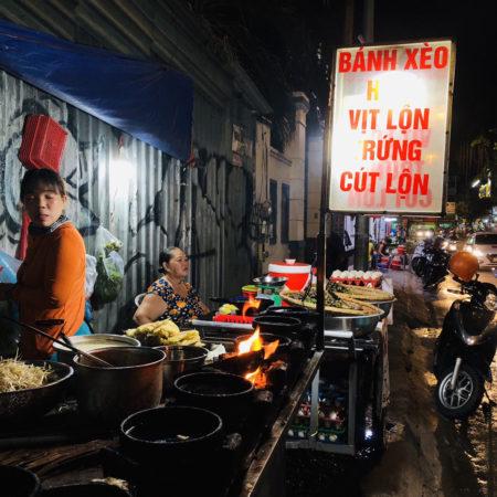 ベトナム ホーチミン バインセオ クイニョン式 banhxeotomnhaybathi