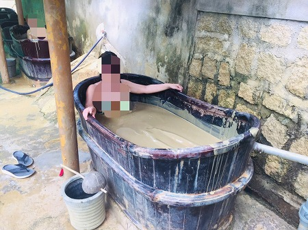 ベトナム ホーチミン ニャチャン 泥温泉 THAP BA mud bath