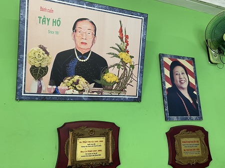 Bánh Cuốn Tây Hồの創業者の写真