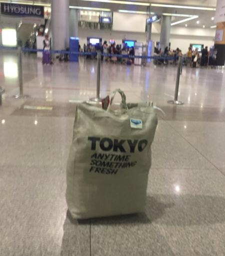 タンソンニャット空港に取り残された荷物
