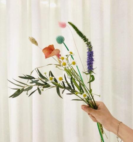 ホーチミン市内で購入できる花束