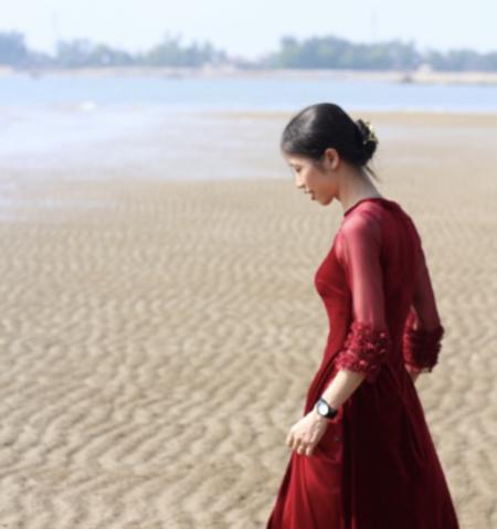 ベトナム北部・天女寺近くのサムソンビーチ