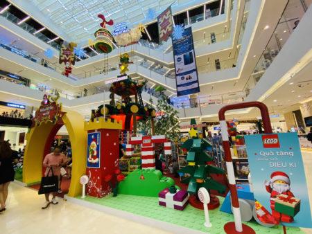 ホーチミン高島屋の催事会場クリスマスイベント
