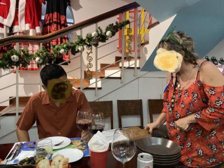 ホーチミン現地コンサルタント・ミーティング会食の様子