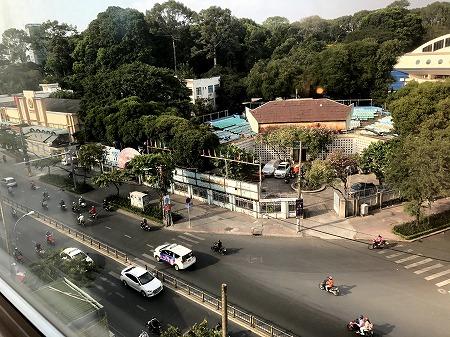 CITITEL PARKVIEW SAIGON HOTELから見える昼の景色