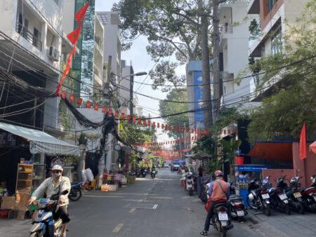 ベトナム街並み