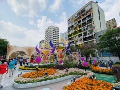 2021年ベトナム旧正月(テト)のホーチミン街中の様子