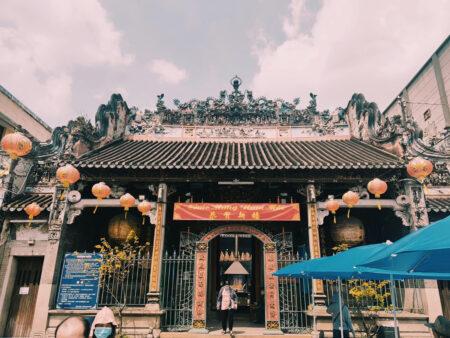 5区チョロン街の寺院
