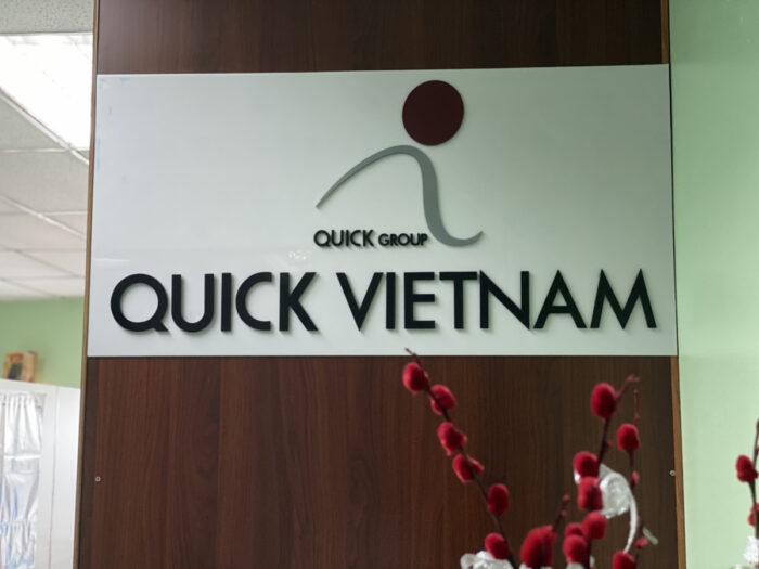 QUICK VIETNAM看板