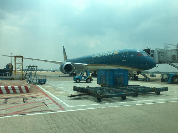 ベトナム航空飛行機